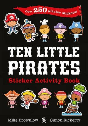 Ten Little Pirates Sticker Activity Book