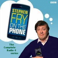 Stephen Fry On The Phone 1/90