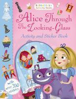 Alice Through the Looking Glass Activity Sticker