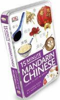 15 Minute Mandarin Chinese Learn In Just 12 Weeks Book & CD Pack