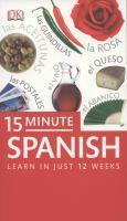 15 Minute Spanish Learn in Just 12 Weeks