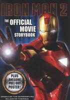 IRON MAN 2  OFFICIAL MOVIE STORYBOOK