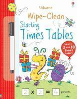 Wipe clean Starting Times Tables
