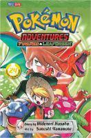 POKEMON ADVENTURES TP Fire Red, Leaf Green VOL 24
