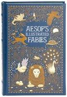 Aesops Illustrated Fables - Leather bound