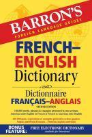 Barrons French-English Dictionary