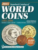 2015 Standard Catalog  World Coins 1901-2000