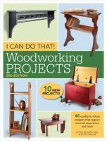 I Can Do That! Woodworking Projects 3rd Edition