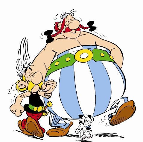 ASTERIX 34 ASTERIX AND OBLELIX BIRTHDAY THE GOLDEN BOOK