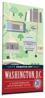 City Scratch-Off Map Washington D.C.