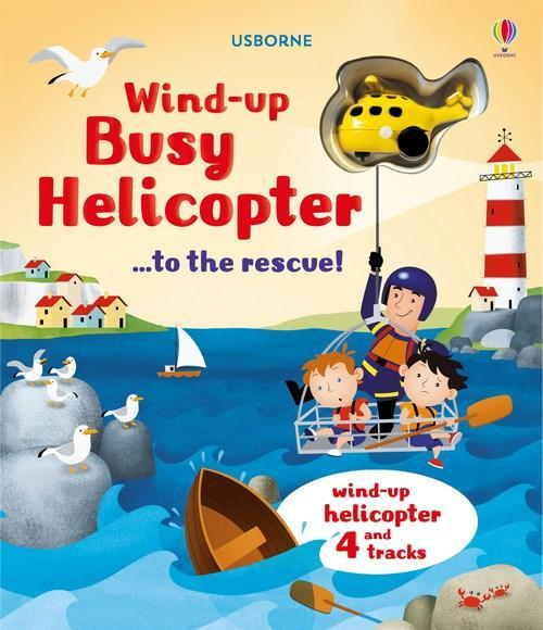 Wind-Up Helicopter