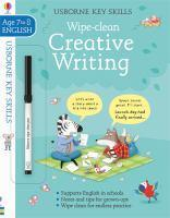 Wipe-Clean Creative Writing 7-8