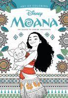 Art of Colouring Moana 100 Images to Inspire Cre