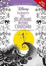 Art of Colouring Nightmare Before Christmas