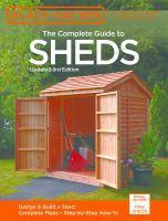 Black & Decker Complete Guide to Sheds
