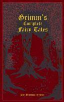 Grimms Complete Fairy Tales Leatherbound