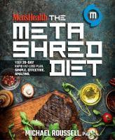 Men's Health The MetaShred Diet Your 28-Day Rapid