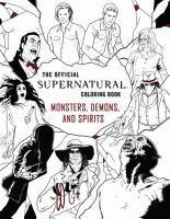 Official Supernatural Coloring Book Monsters Dem