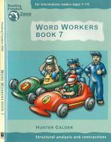 Reading Freedom Word Workers Book 7: Structural analysis andcontractions