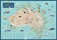 Australia Illustrated Map