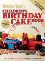 AWW CHILDRENS BIRTHDAY CAKE BOOK VINTAGE EDITION