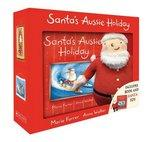 Santas Aussie Holiday Boxed Set + Plush