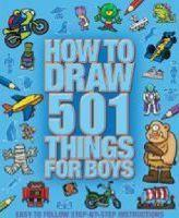 501 Things for Boys to Draw
