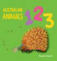 Australian Animals 123 Book