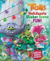 Trolls Holidazzle Sticker Scene Fun