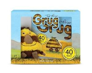 Grug 40th Anniversary Celebration Book and Plush B