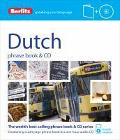 Berlitz: Dutch Phrase Book & CD
