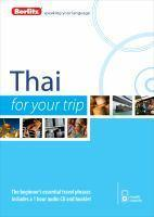 Berlitz Language Thai For Your Trip