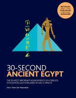 30-Second Ancient Egypt