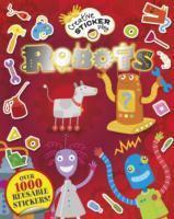 Little Hands Creative Sticker Play Robots