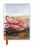 Foiled Journal #155 Gerritt Vandersyde Flamingoes