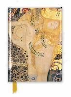 Foiled Journal #159 Gustav Klimt Water Serpents I