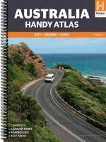 Australia Handy Atlas - Spiral 11th edition