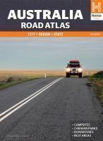 Australia Road Atlas City Region State 11th edition