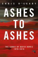 Ashes to Ashes Songs of David Bowie