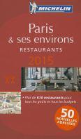 2015 Red Guide Paris